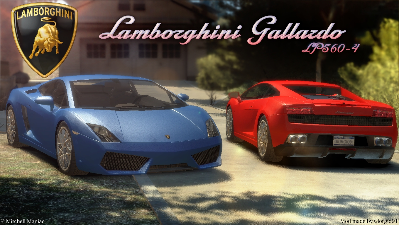 The Gta Place Lamborghini Gallardo Lp560 4