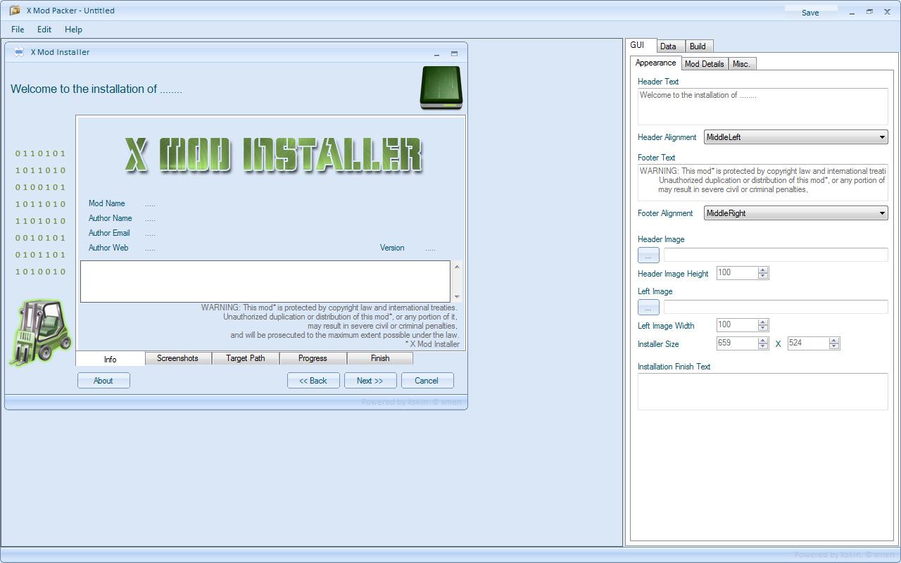 The GTA Place - X Mod Installer V 1 0