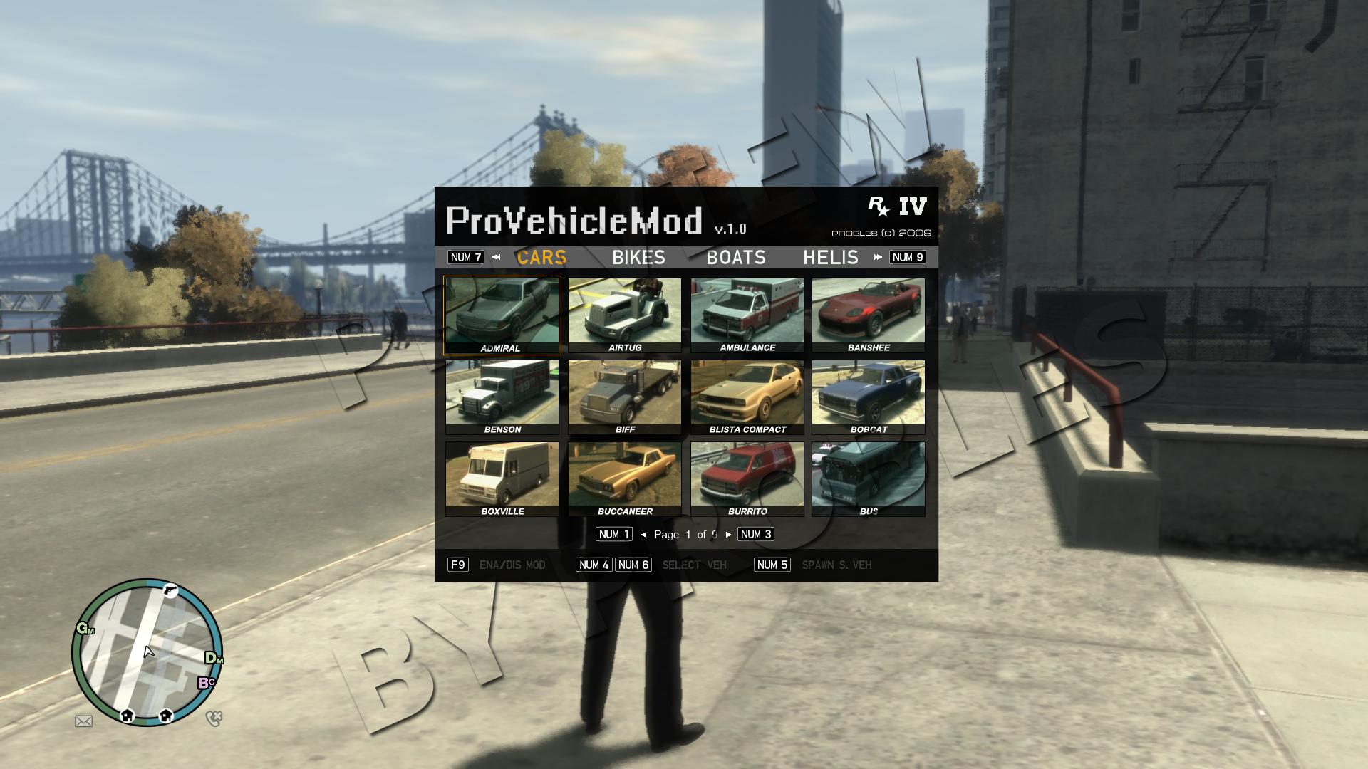 grand theft auto san andreas car spawner mod