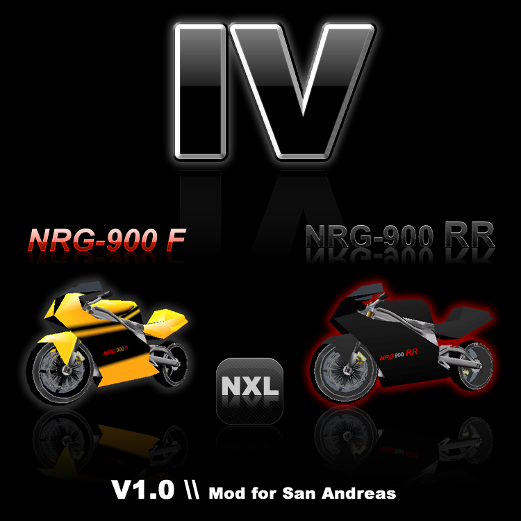 The GTA Place - NRG900 F and RR mod for San Andreas