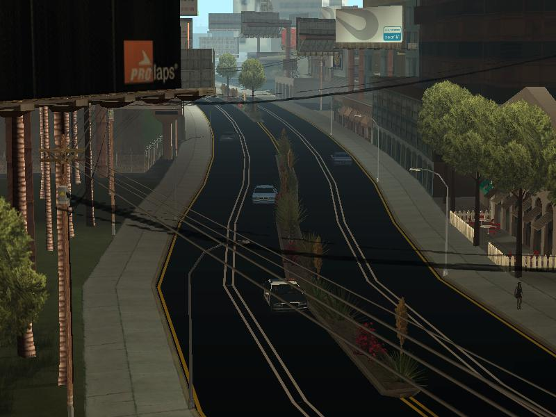 The GTA Place - New Roads in San Andreas