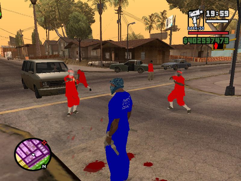 The Gta Place Bloods Vs Crips V1 0