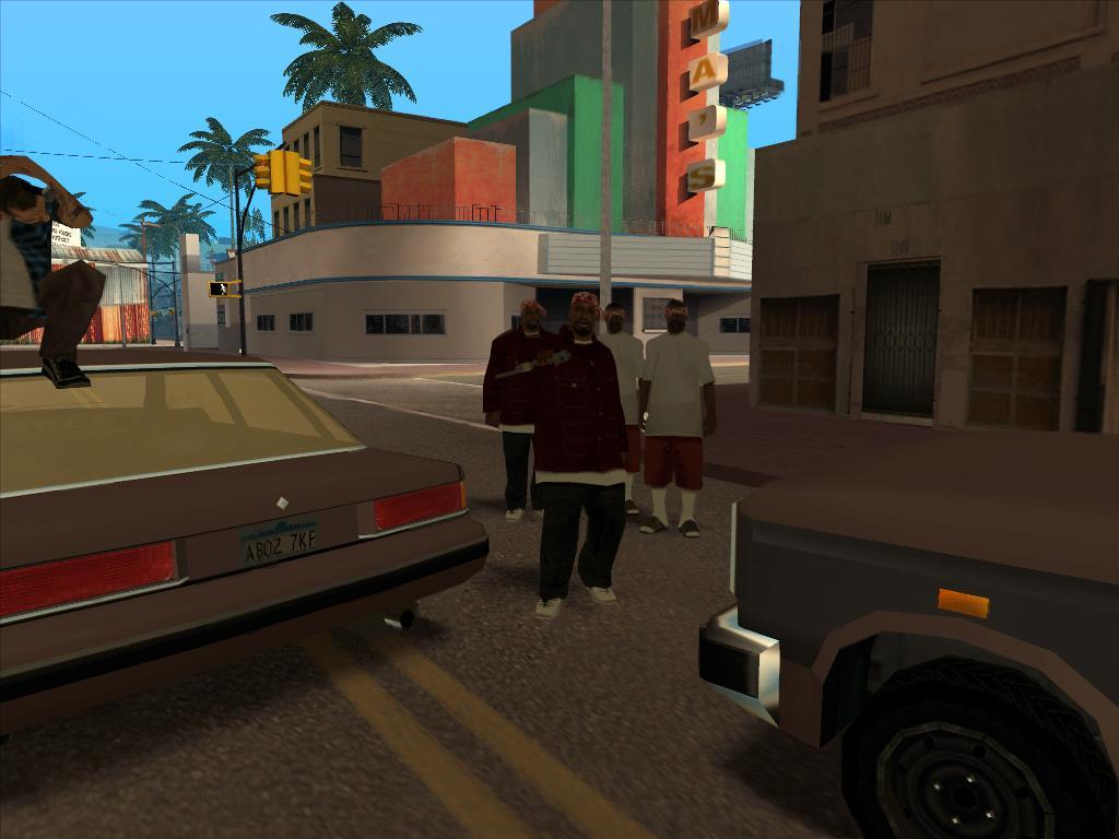 The GTA Place - LOS ANGELES GANGBANGIN v1 0