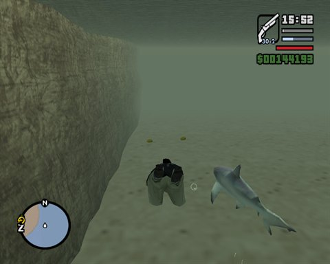 gta san andreas shark cheat