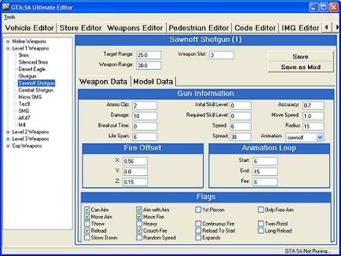 The GTA Place - GTA San Andreas - Ultimate Editor 3 06