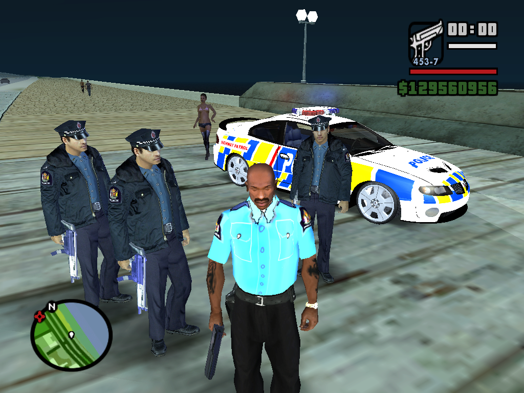 The GTA Place - NZ Police Pack