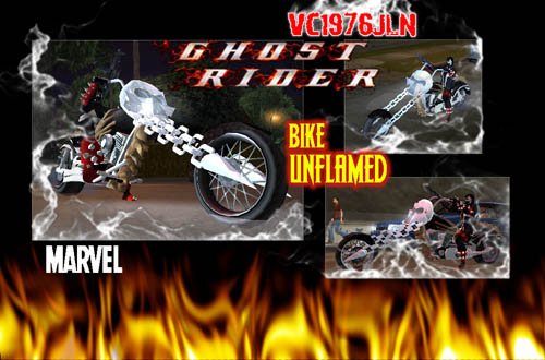 The GTA Place - Ghost Rider Bike w/o Flames