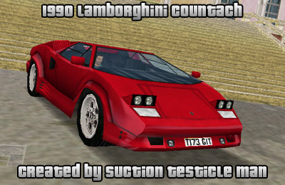 The Gta Place Lamborghini Countach 1990 Vcm