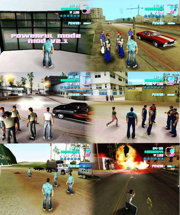 The GTA Place - GTAVC Powerful Mode Mod