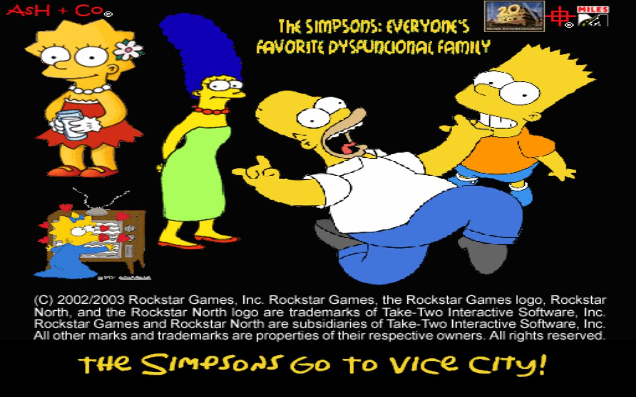 The GTA Place - The Simpsons In Vice City V1 1