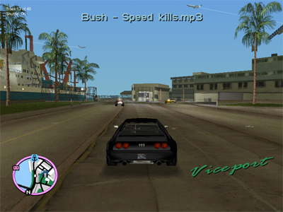 The GTA Place - GTA: Vice City MP3 Control