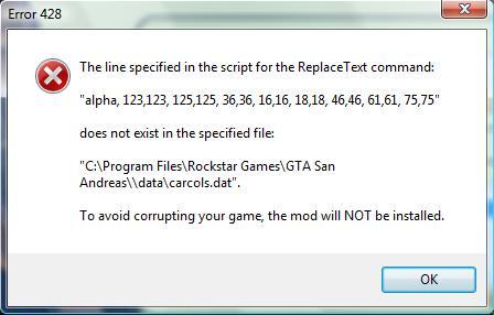 Help with San Andreas Mod Installer - GTASA Modding - The