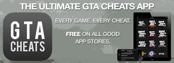 GTA Cheats Promo