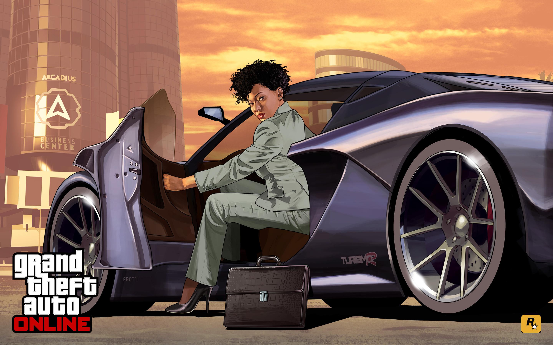 Corporate Car Online: GTA V Artwork