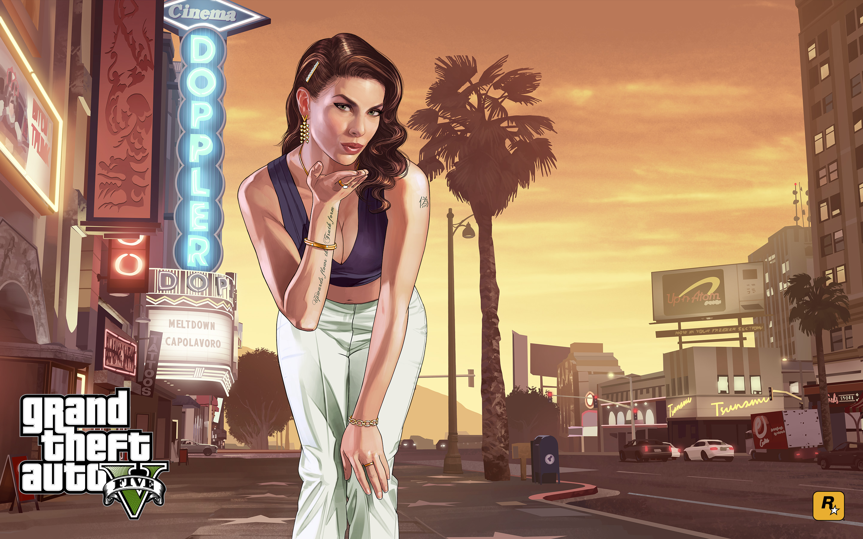 the gta place - gta v artwork