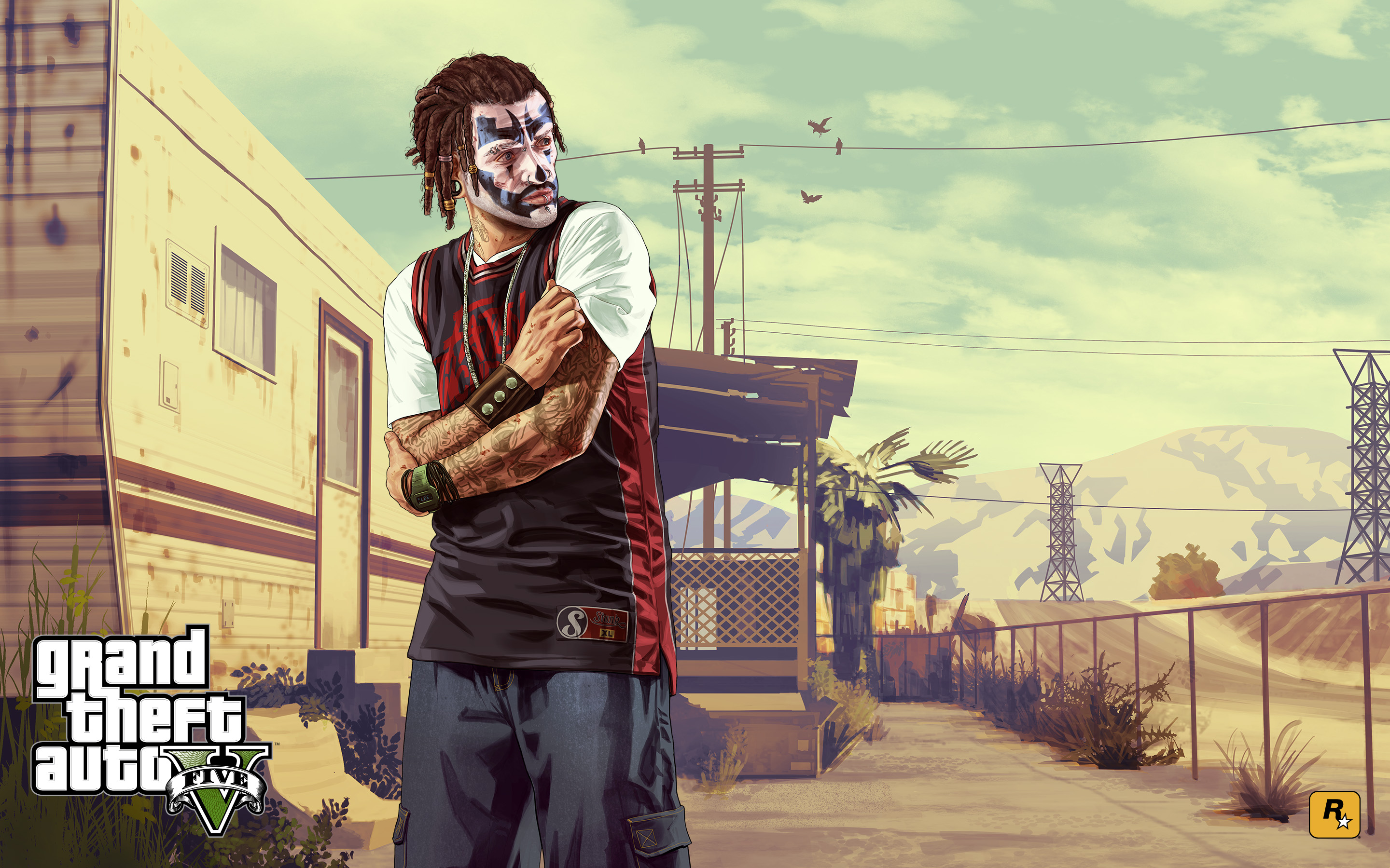 The gta place gta v artwork - Gta v wallpaper ...
